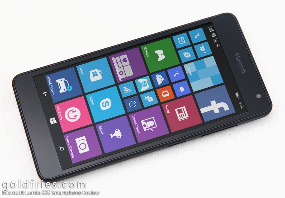 Microsoft Lumia 535 Smartphone Review Goldfries