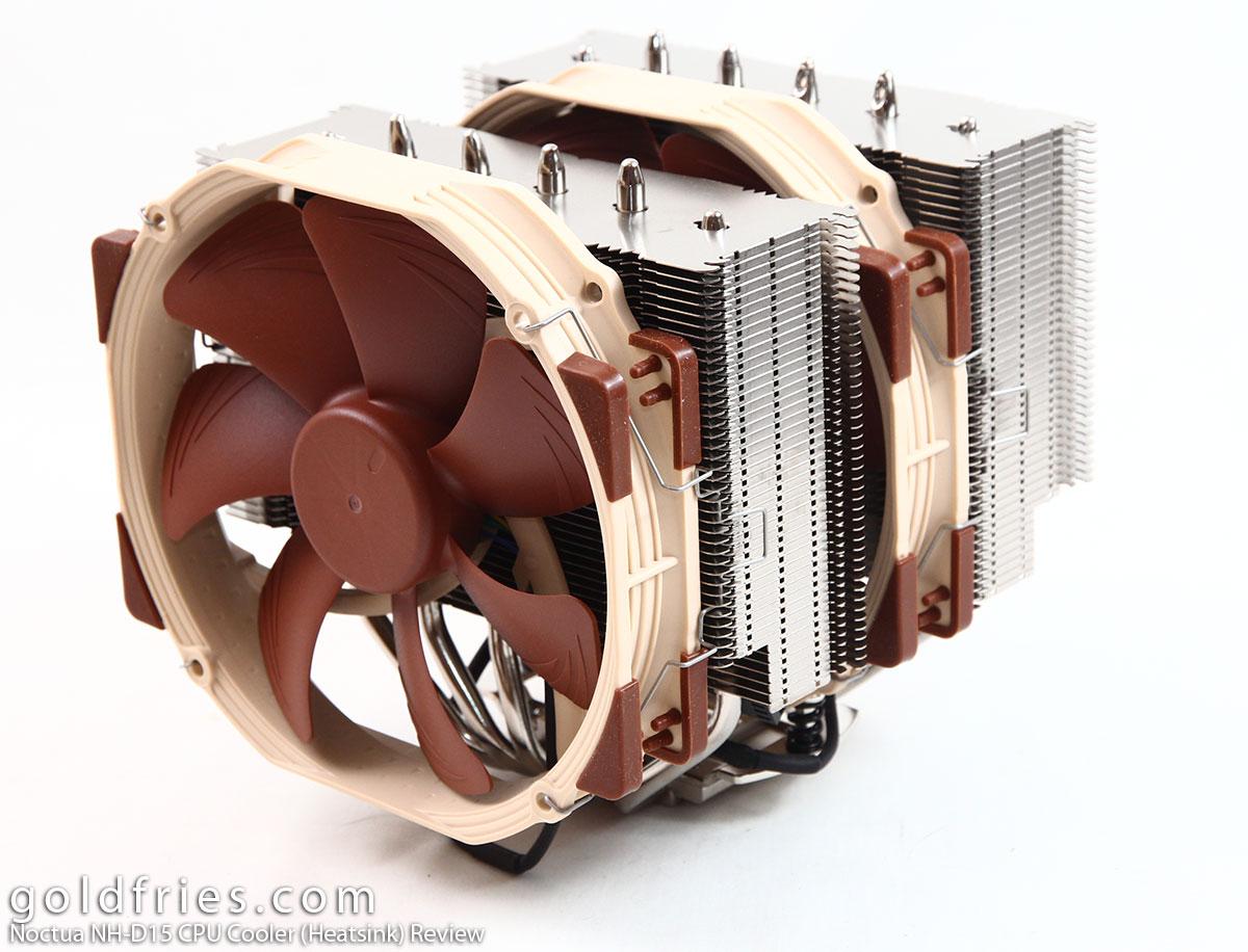 Noctua Nh D15 Cpu Cooler Heatsink Review Goldfries
