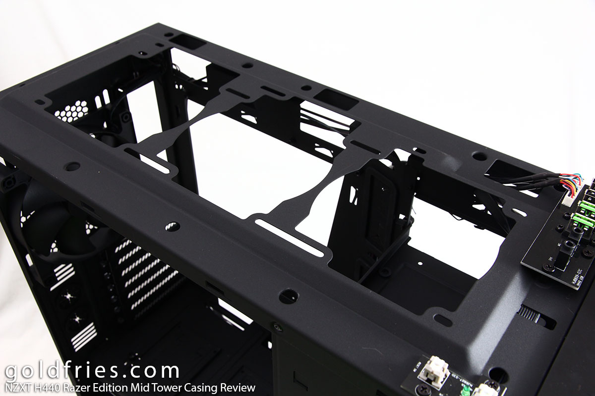 NZXT H440 Razer Edition Mid Tower Casing Review