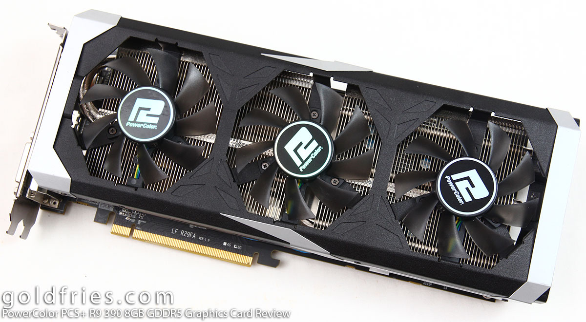 PowerColor PCS+ R9 390 8GB GDDR5 Graphics Card Review