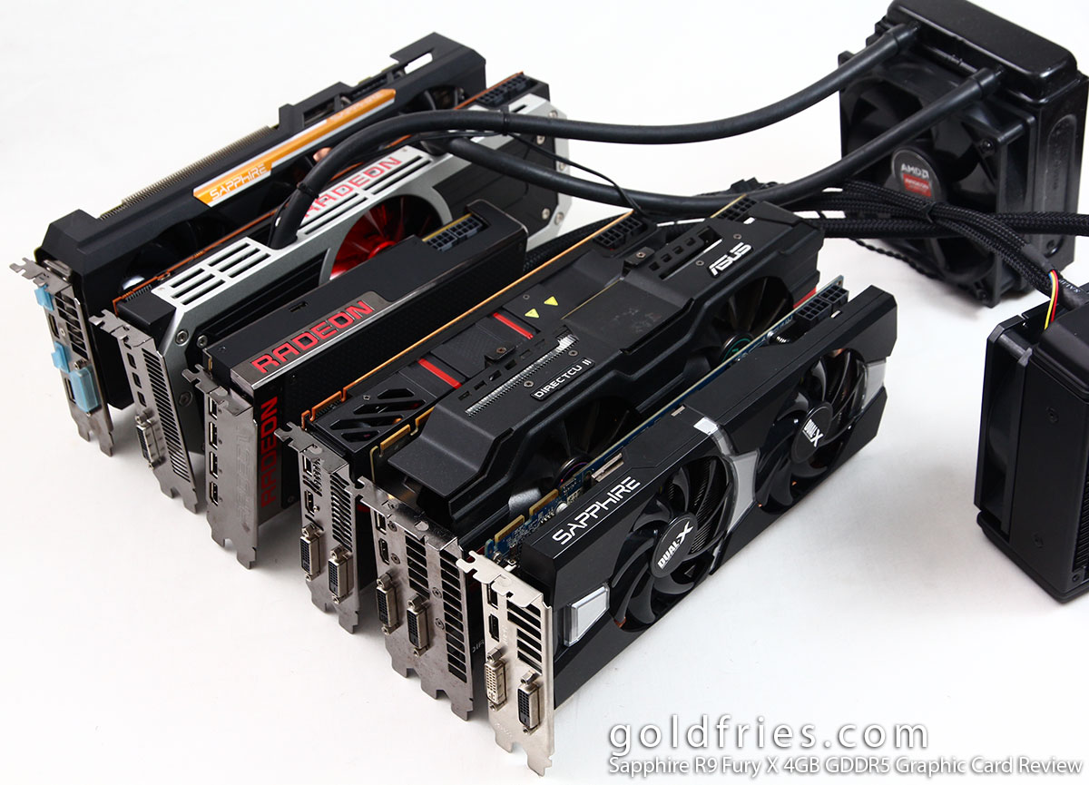 Sapphire R9 Fury X 4GB GDDR5 Graphic Card Review