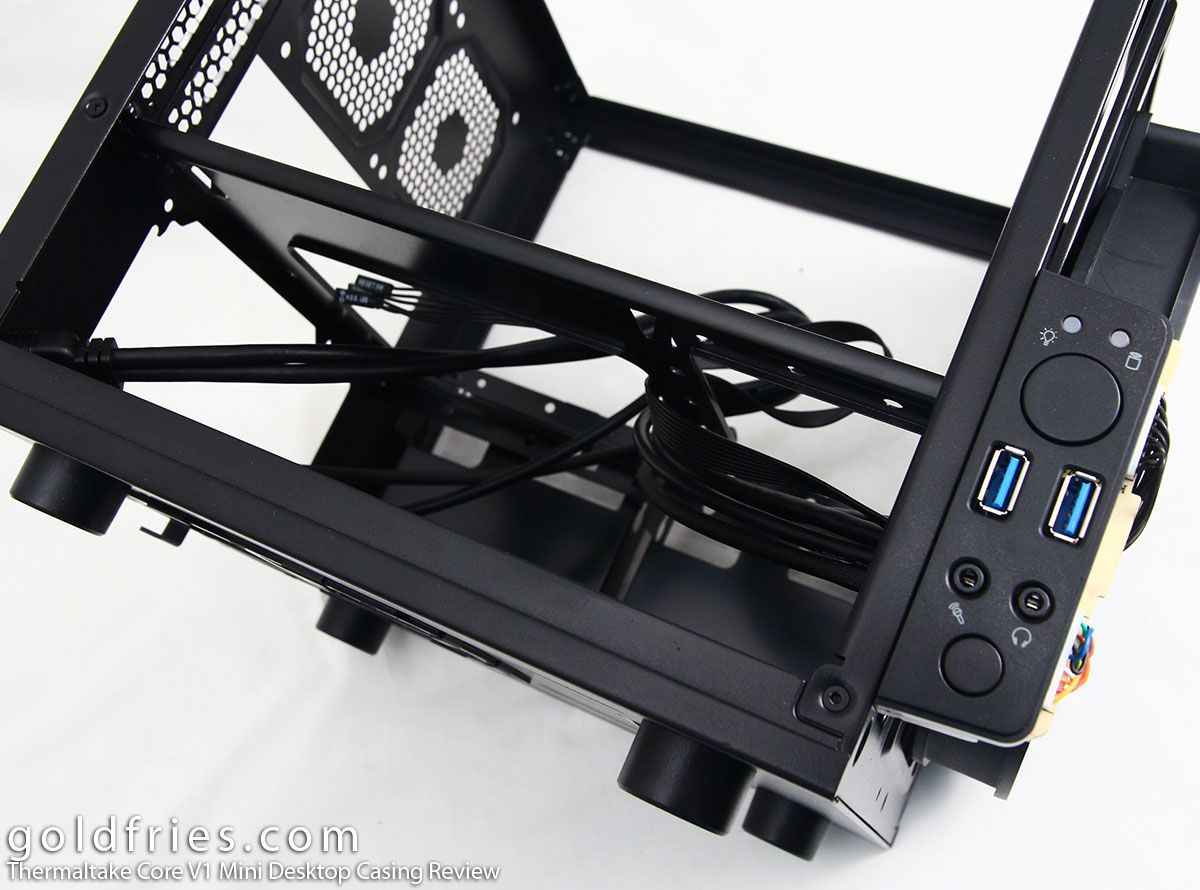 Thermaltake Core V1 Mini Desktop Casing Review