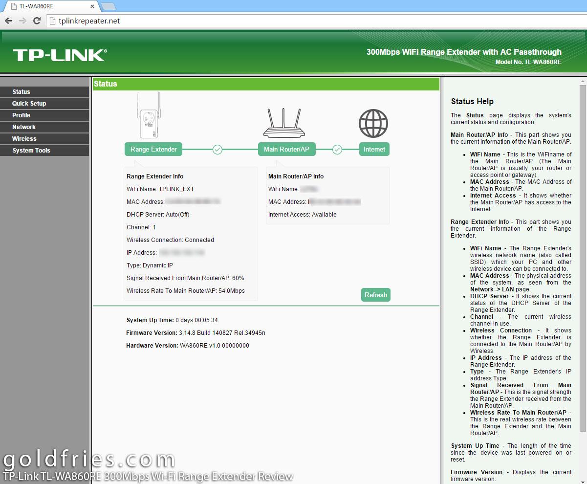 TP-Link TL-WA860RE 300Mbps Wi-Fi Range Extender Review