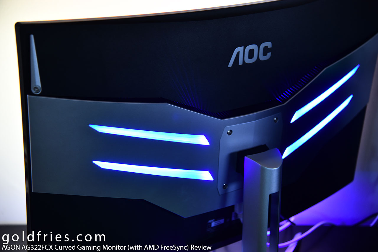 AGON AG322FCX Curved Gaming Monitor (with AMD FreeSync) Review