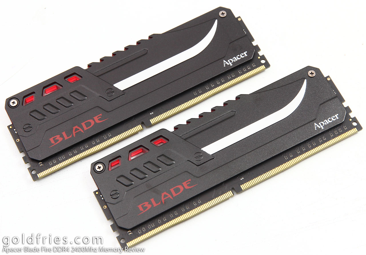 Apacer Blade Fire DDR4 2400Mhz Memory Review