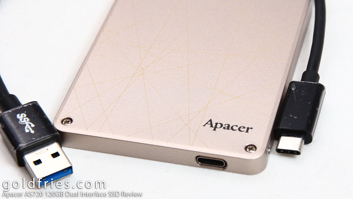Apacer AS720 120GB Dual Interface SSD Review