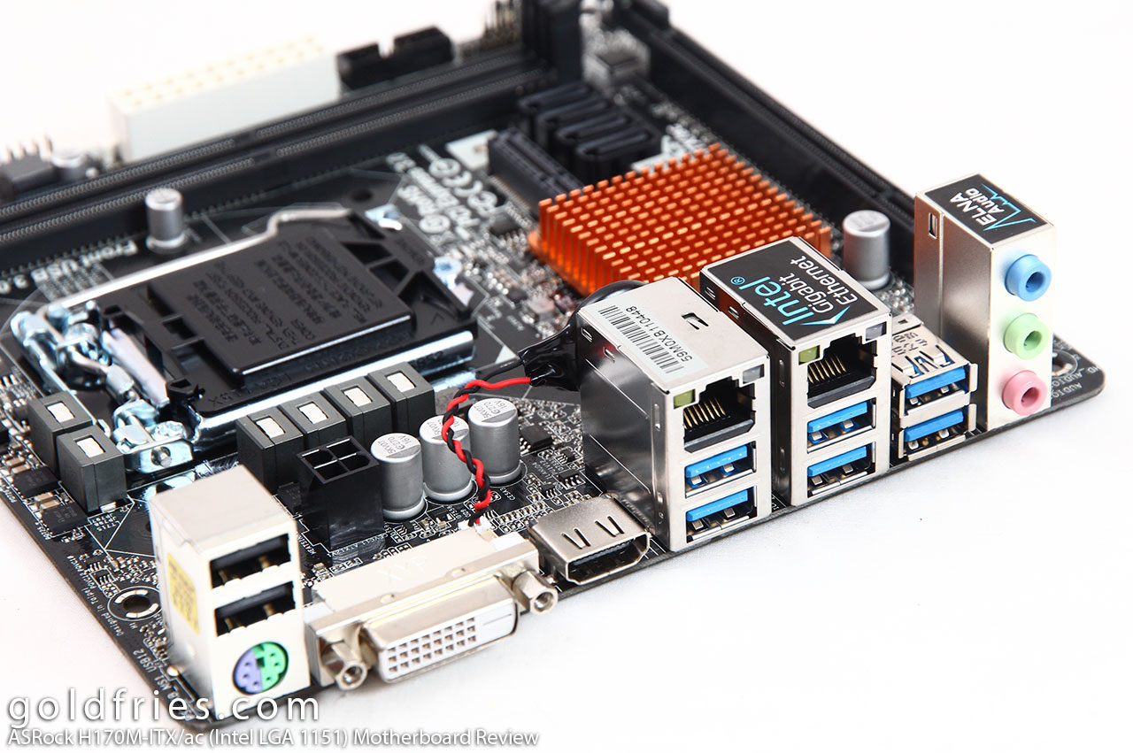 ASRock H170M-ITX/ac (Intel LGA 1151) Motherboard Review