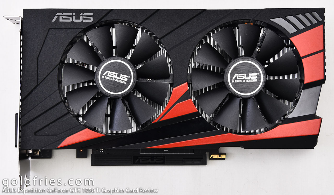 ASUS Expedition GeForce GTX 1050 Ti Graphics Card Review