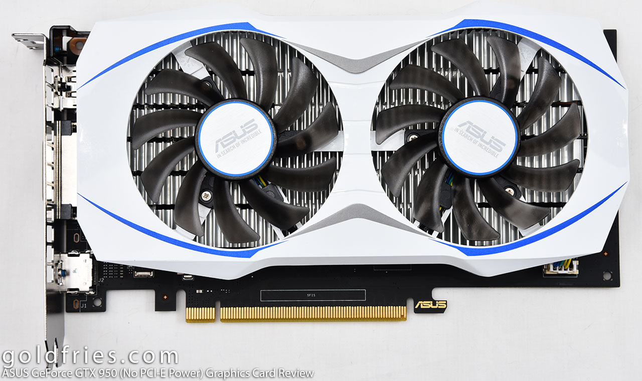 ASUS GeForce GTX 950 (No PCI-E Power) Graphics Card Review