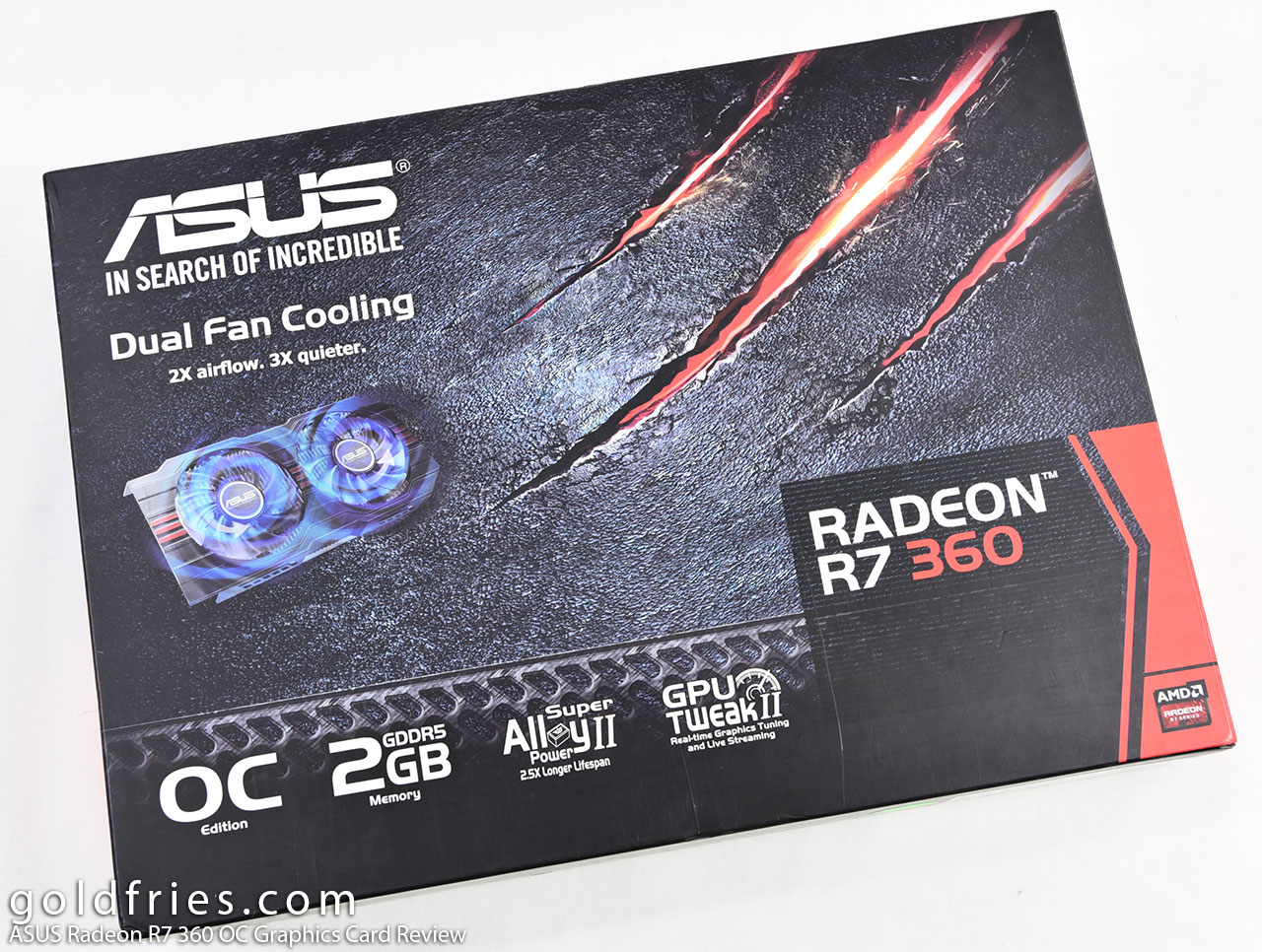 ASUS Radeon R7 360 OC Graphics Card Review