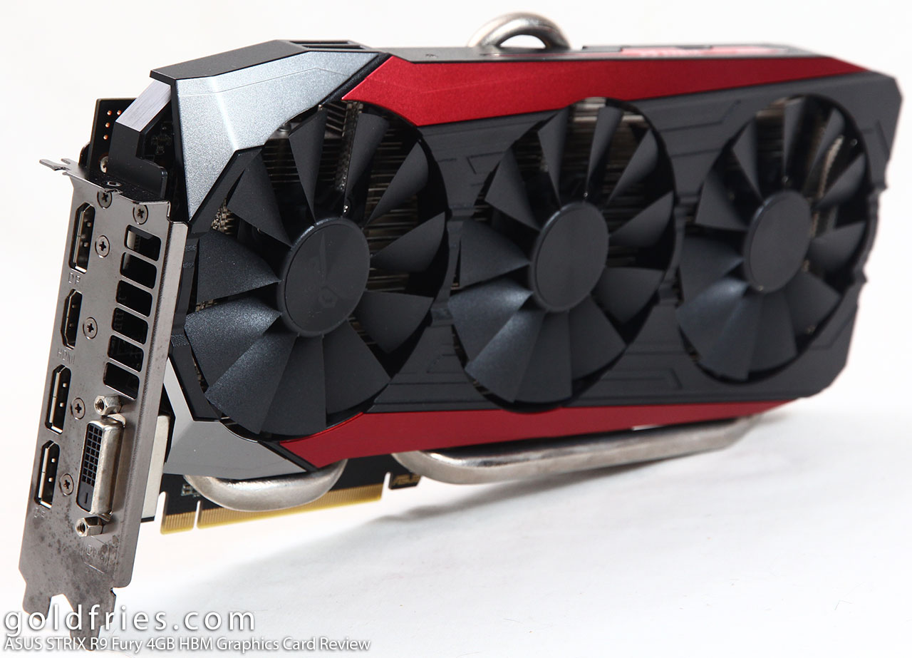 ASUS STRIX R9 Fury 4GB HBM Graphics Card Review