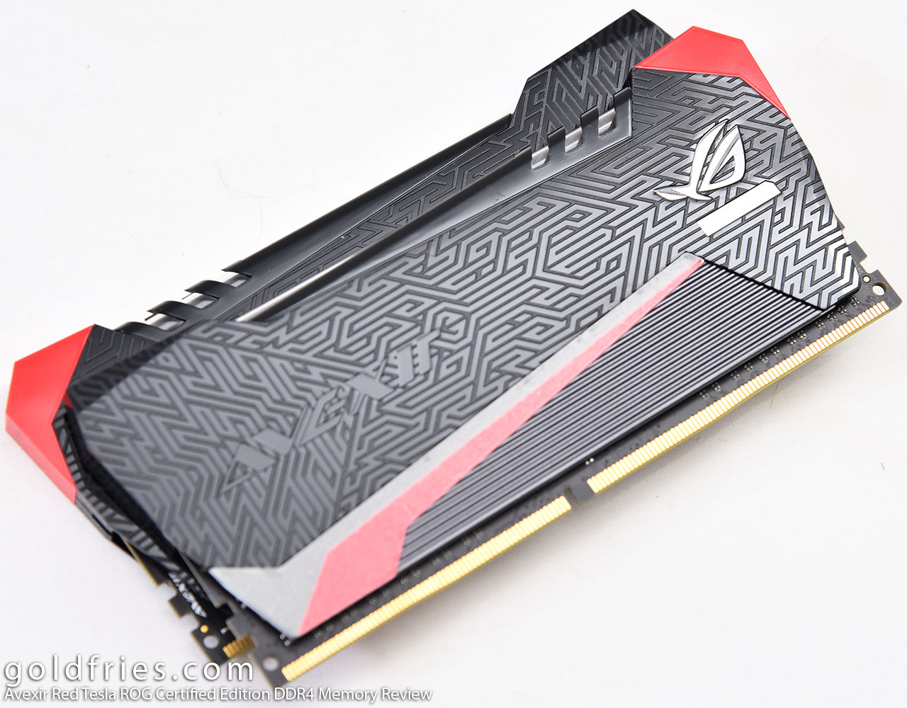 Avexir Red Tesla ROG Certified Edition DDR4 Memory Review