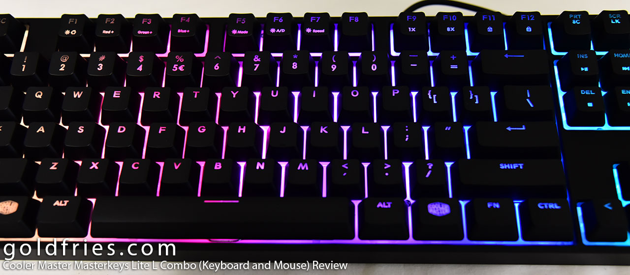 Cooler Master Masterkeys Lite L Combo (Keyboard and Mouse) Review