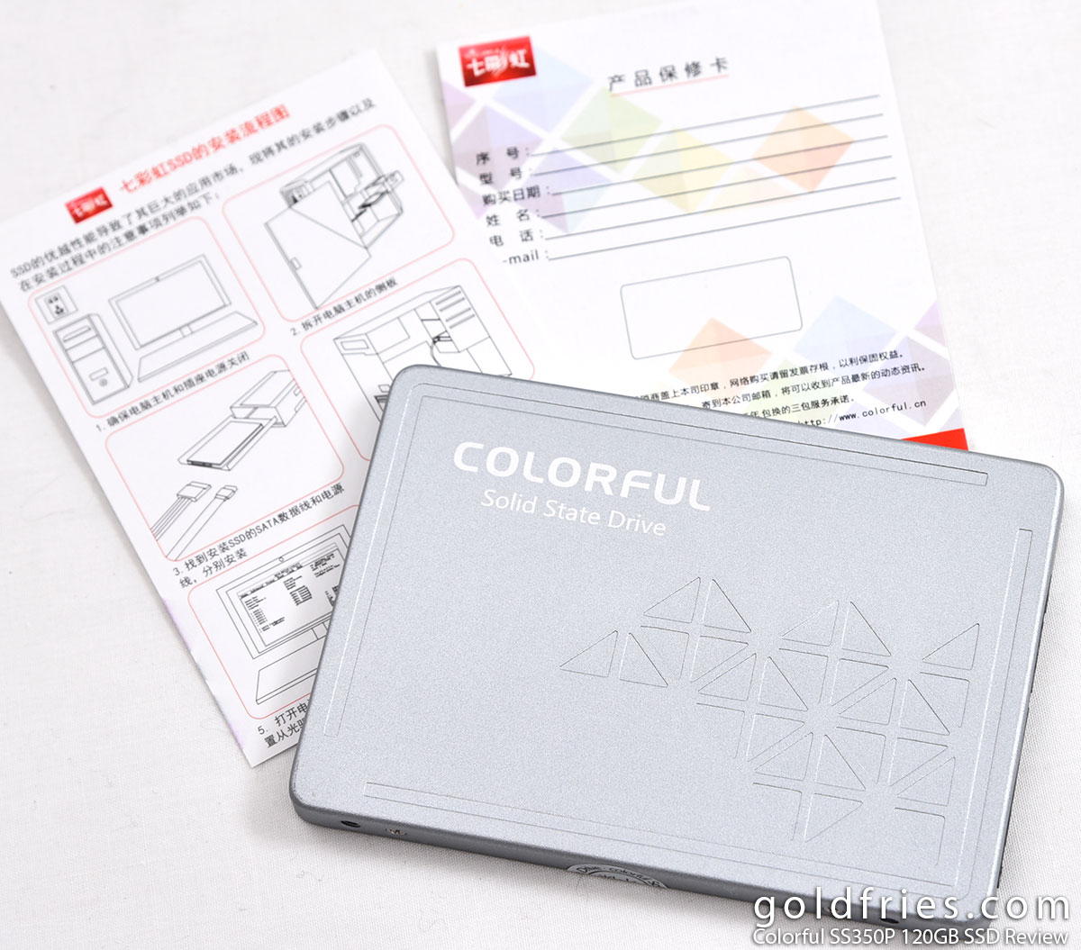 Colorful SS350P 120GB SSD Review