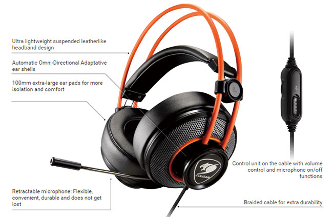 Cougar Immersa Gaming Headset Review
