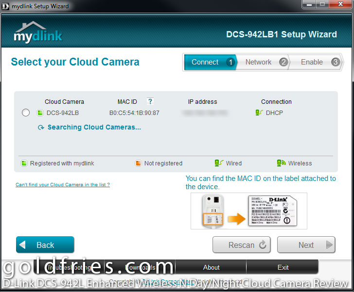 D-Link DCS-942L Enhanced Wireless N Day/Night Cloud Camera Review