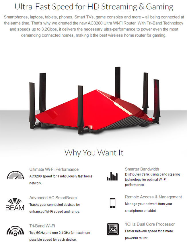 D-Link DIR-890L AC3200 Ultra Wi-Fi Router Review