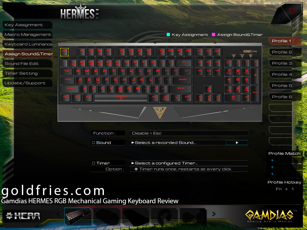 Gamdias HERMES RGB Mechanical Gaming Keyboard Review