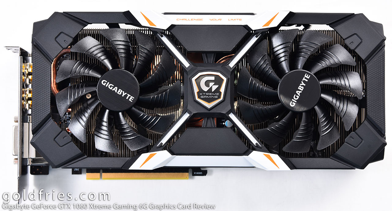 Gigabyte GeForce GTX 1060 Xtreme Gaming 6G Graphics Card