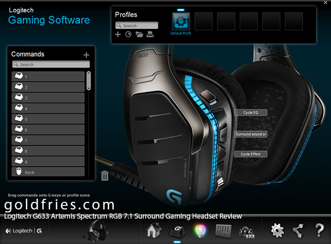 Logitech G633 Artemis Spectrum RGB 7.1 Surround Gaming Headset Review