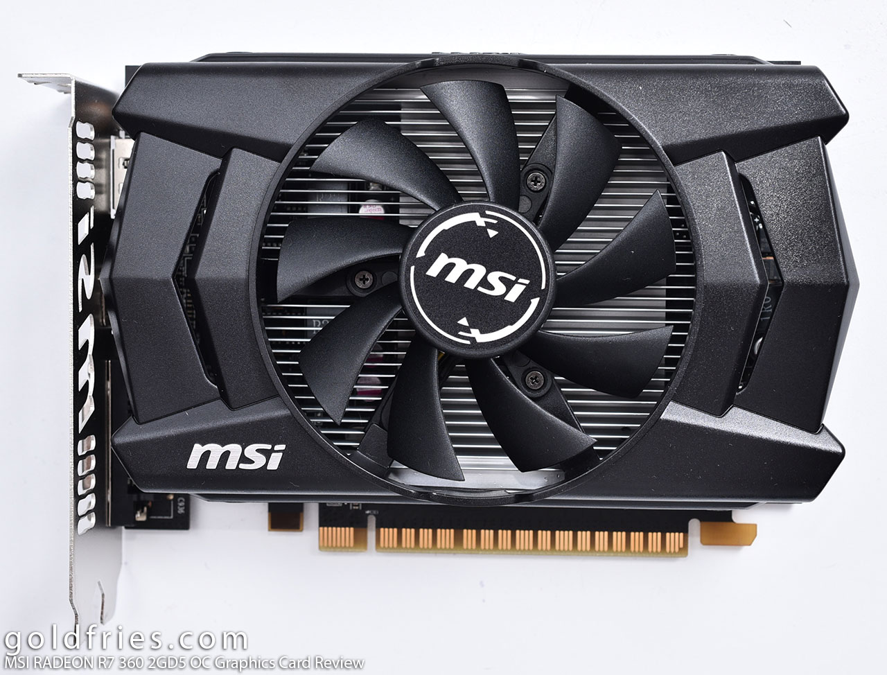 MSI RADEON R7 360 2GD5 OC Graphics Card Review