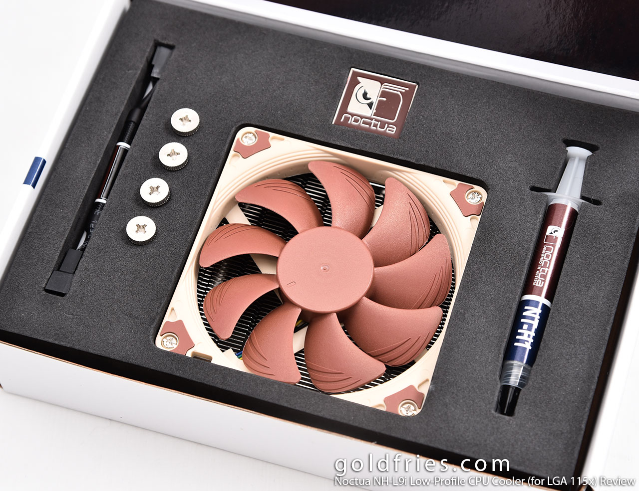 Noctua NH-L9i Low-Profile CPU Cooler (for LGA 115x) Review