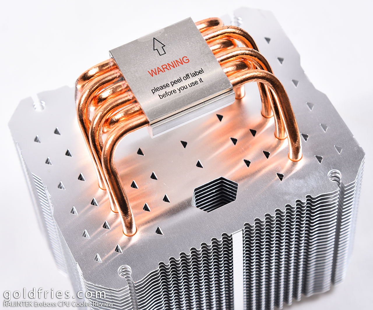 RAIJINTEK Ereboss CPU Cooler Review