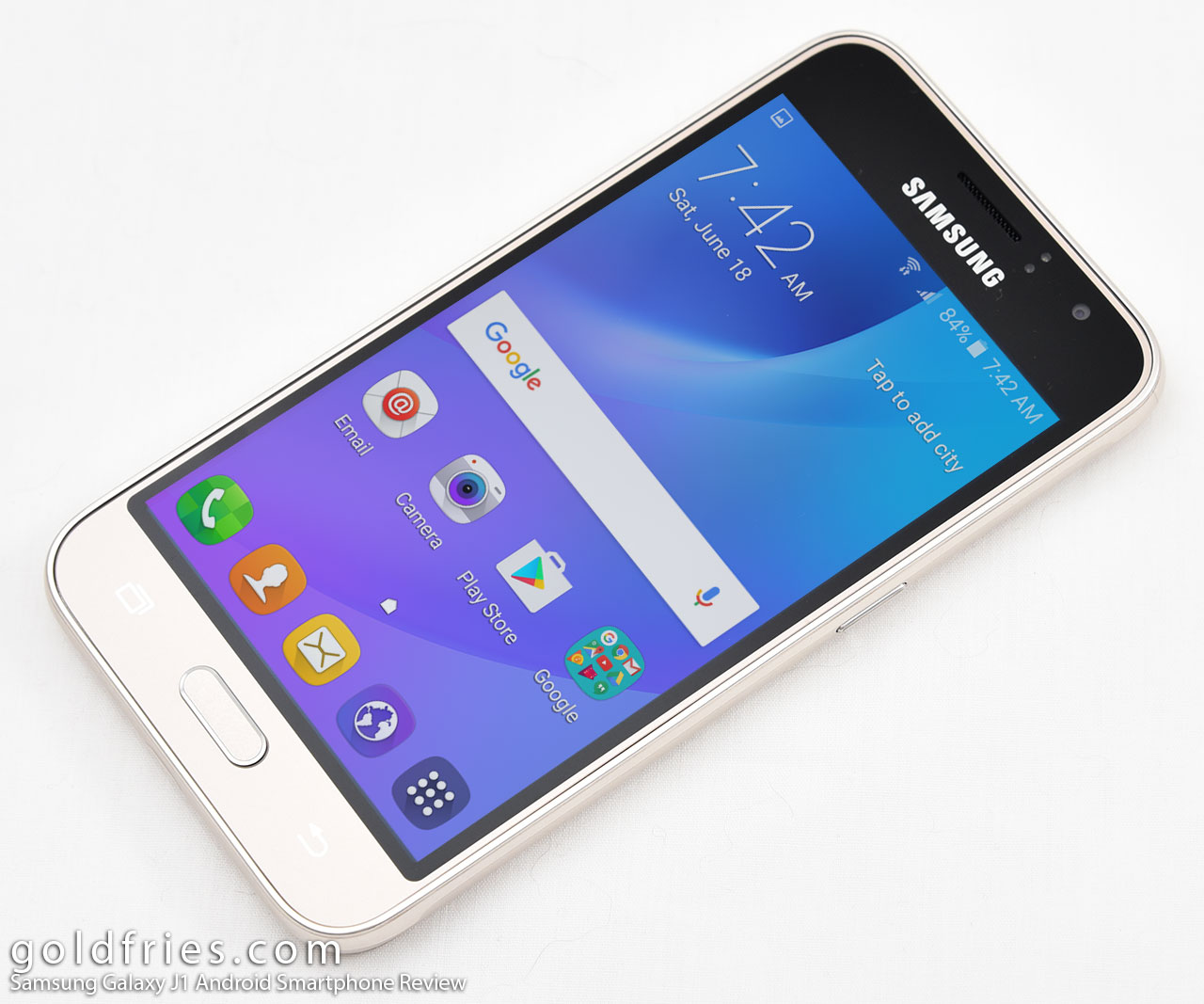 Samsung Galaxy J1 Android Smartphone Review
