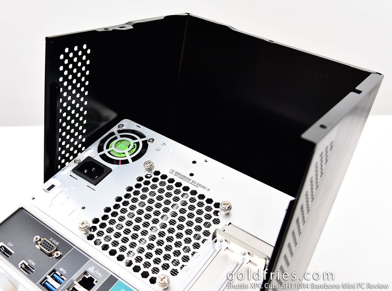 Shuttle XPC Cube SH110R4 Barebone Mini PC Review
