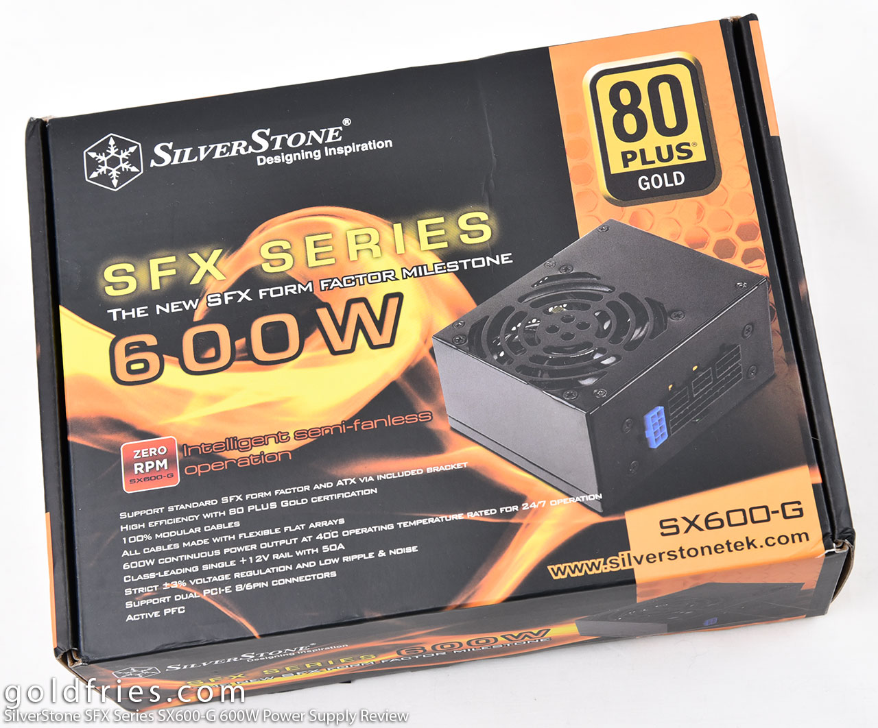 SilverStone SFX Series SX600-G 600W Power Supply Review