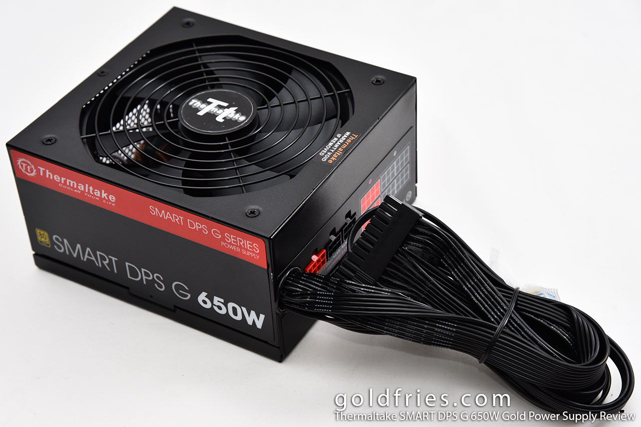 Thermaltake SMART DPS G 650W Gold Modular Power Supply Review