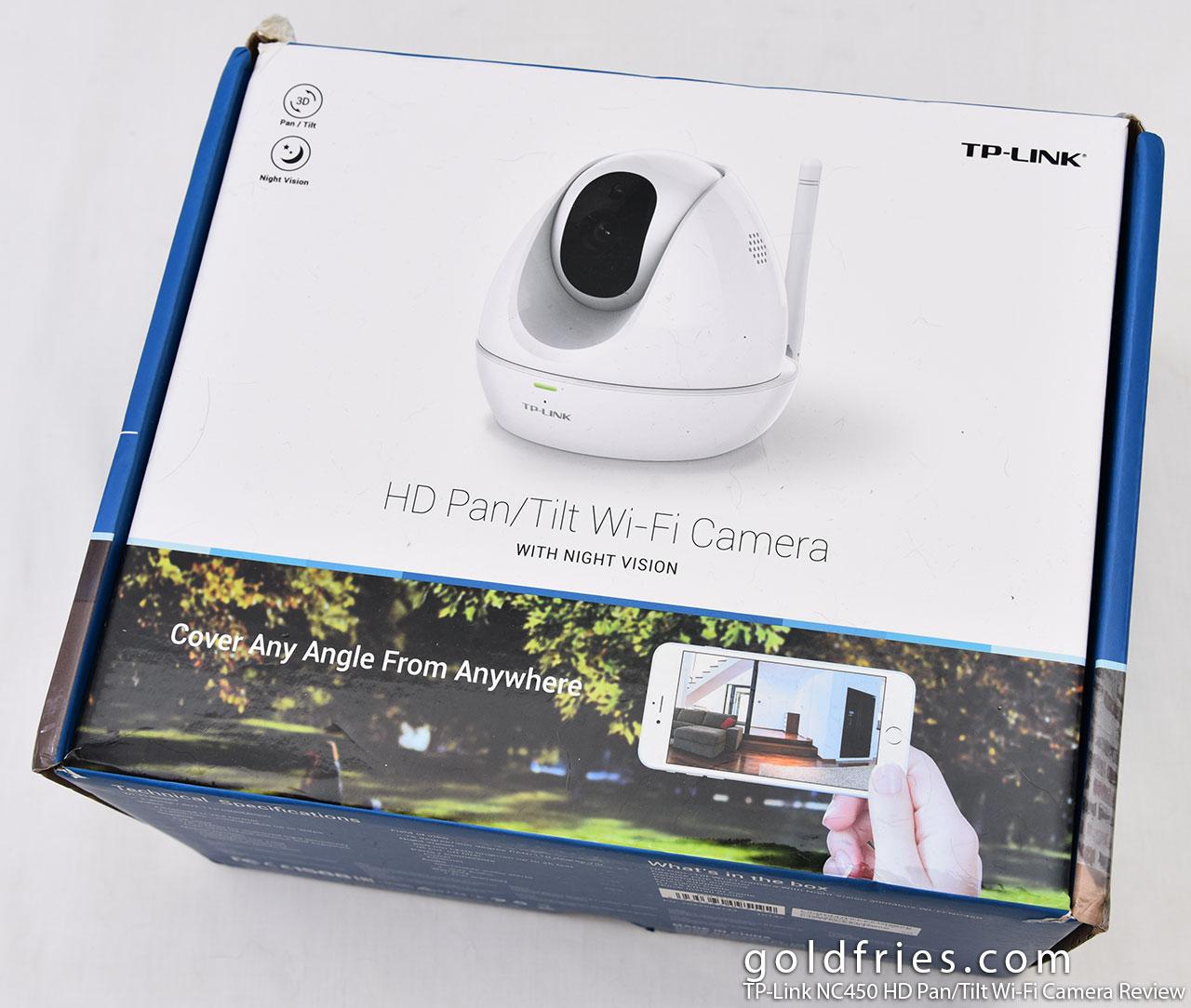 TP-Link NC450 HD Pan/Tilt Wi-Fi Camera Review ~ goldfries