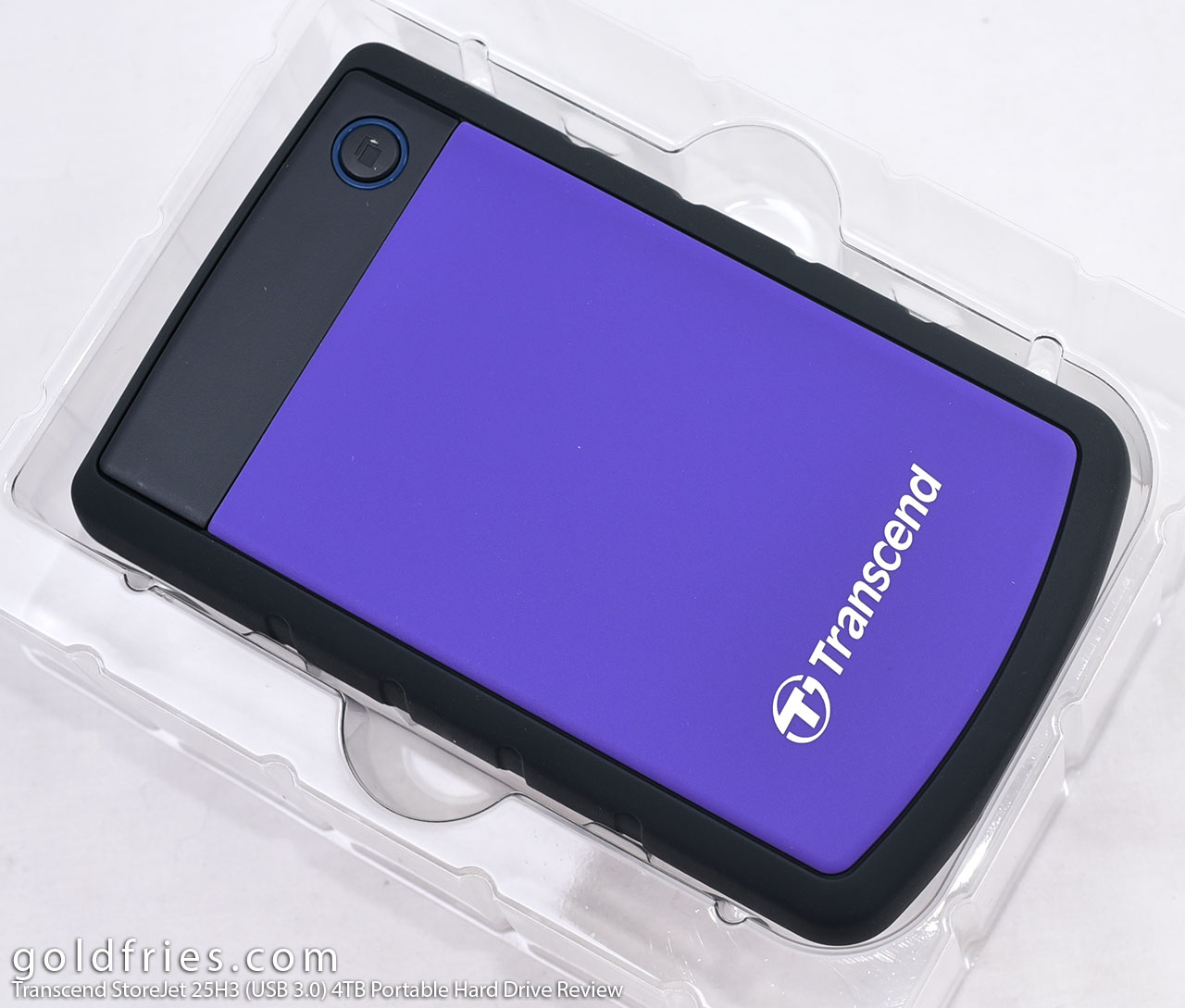Transcend StoreJet 25H3 (USB 3.0) Portable Hard Drive Review