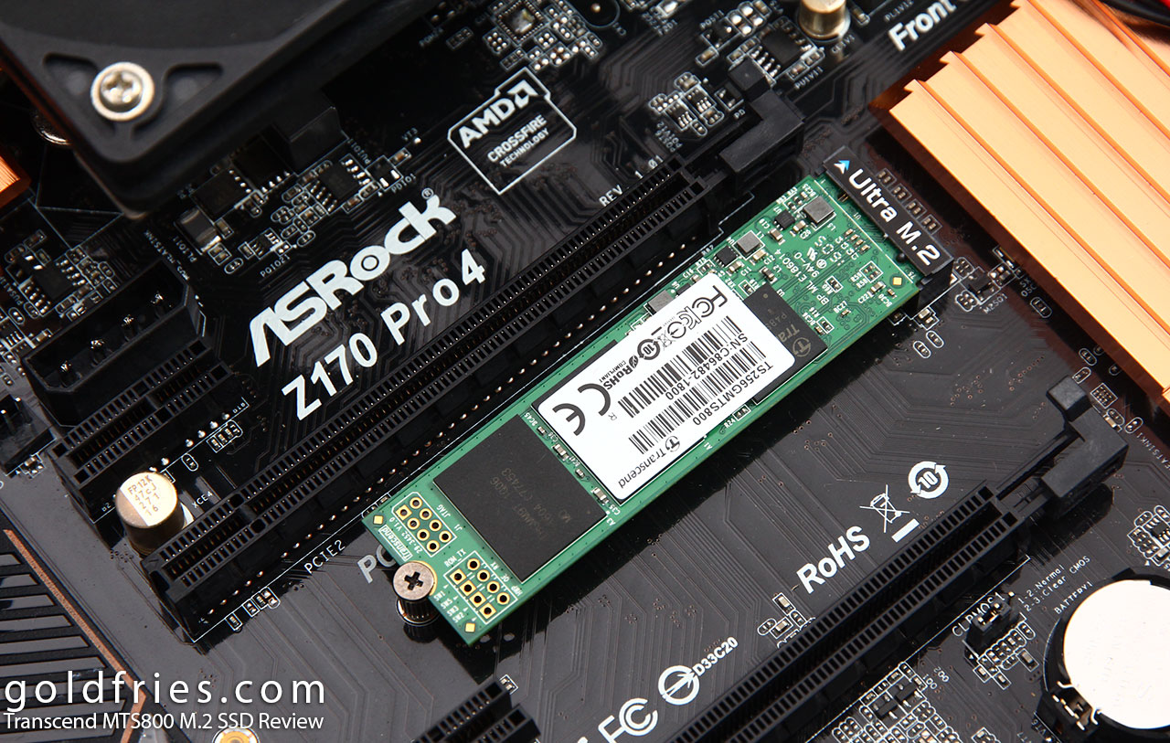 Transcend MTS800 M.2 SSD Review