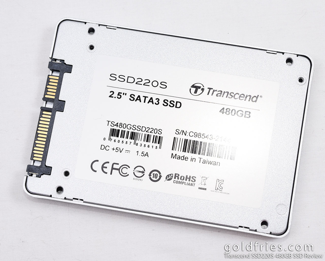 Transcend SSD220S 480GB SSD Review