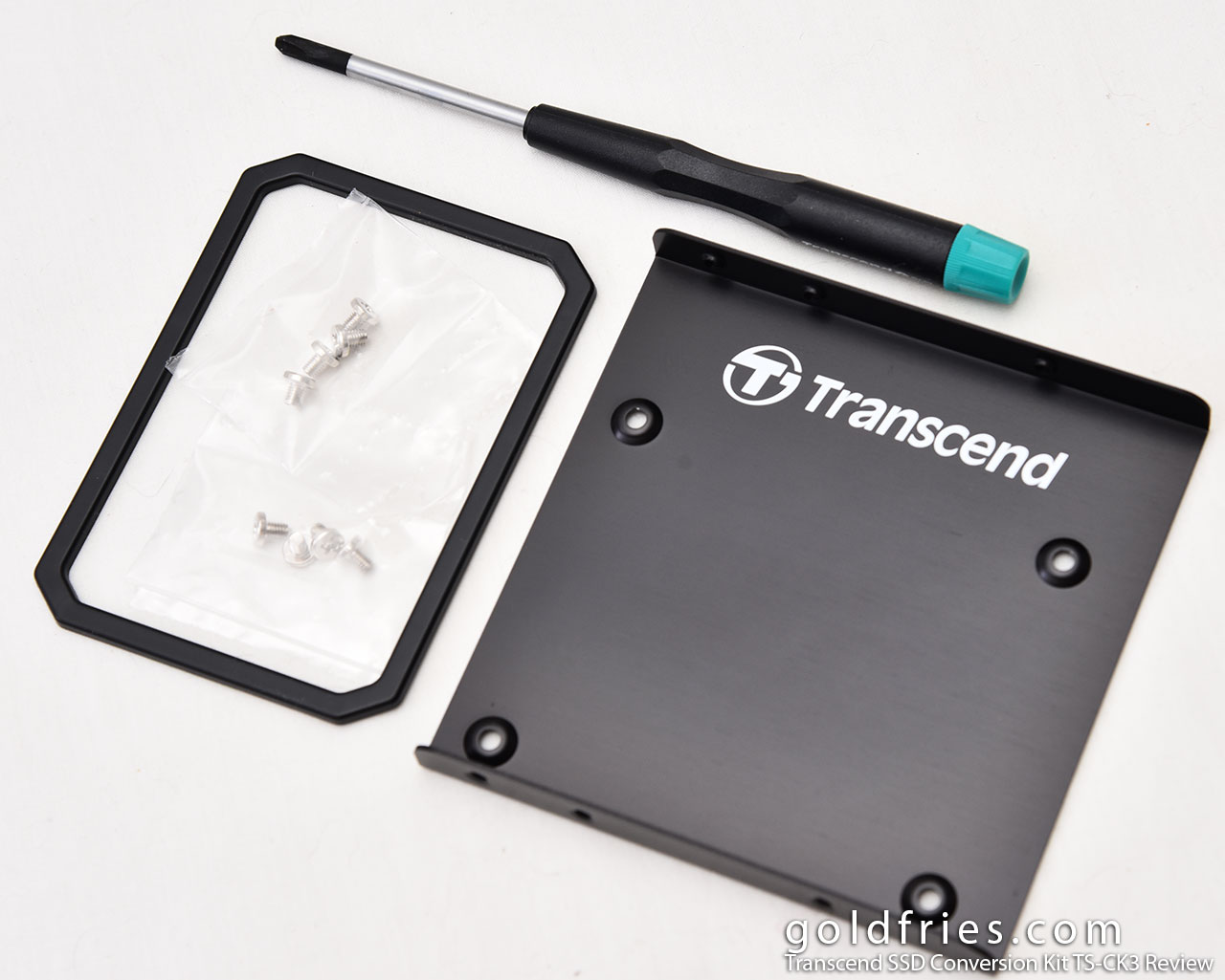 Transcend SSD Conversion Kit TS-CK3 Review