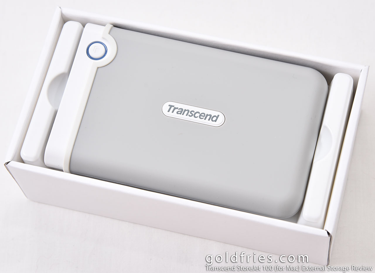 Transcend StoreJet 100 (for Mac) External Storage Review