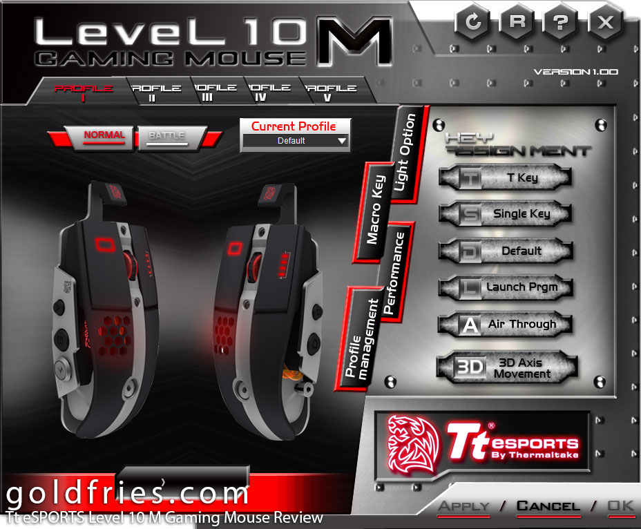 Tt eSPORTS Level 10 M Gaming Mouse Review