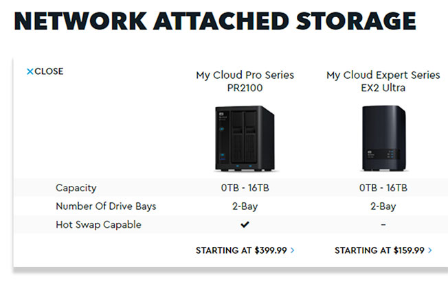 WD My Cloud Pro Series PR2100 Network Attached Storage (NAS) Review