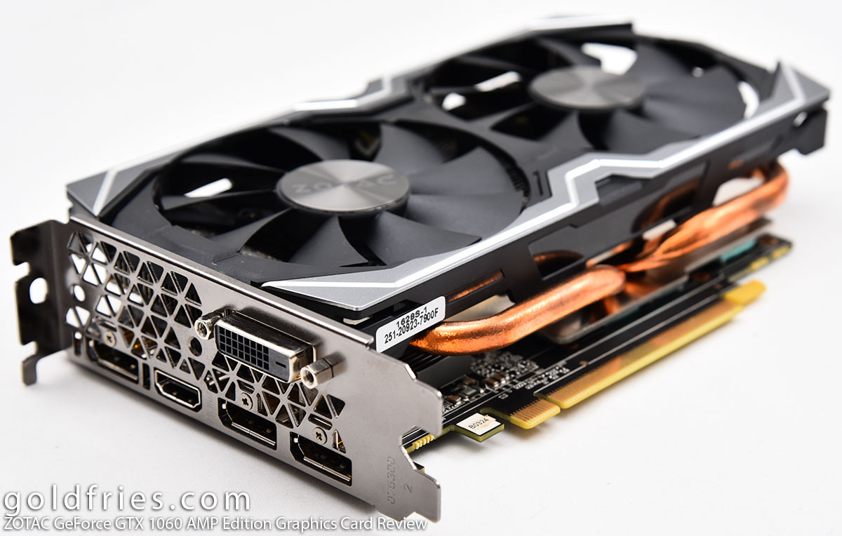 ZOTAC GeForce GTX 1060 AMP Edition Graphics Card Review