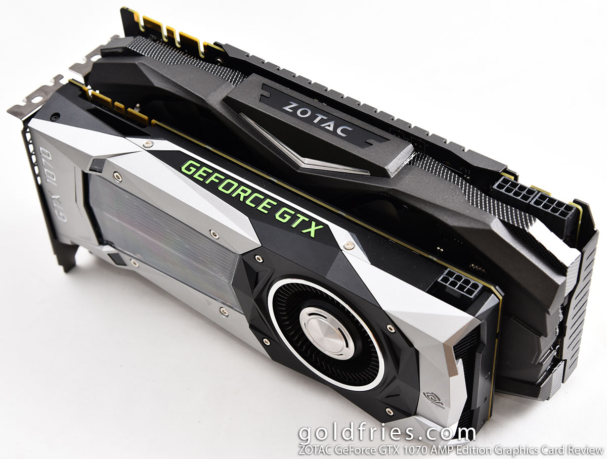 ZOTAC GeForce GTX 1070 AMP Edition Graphics Card Review ~ goldfries