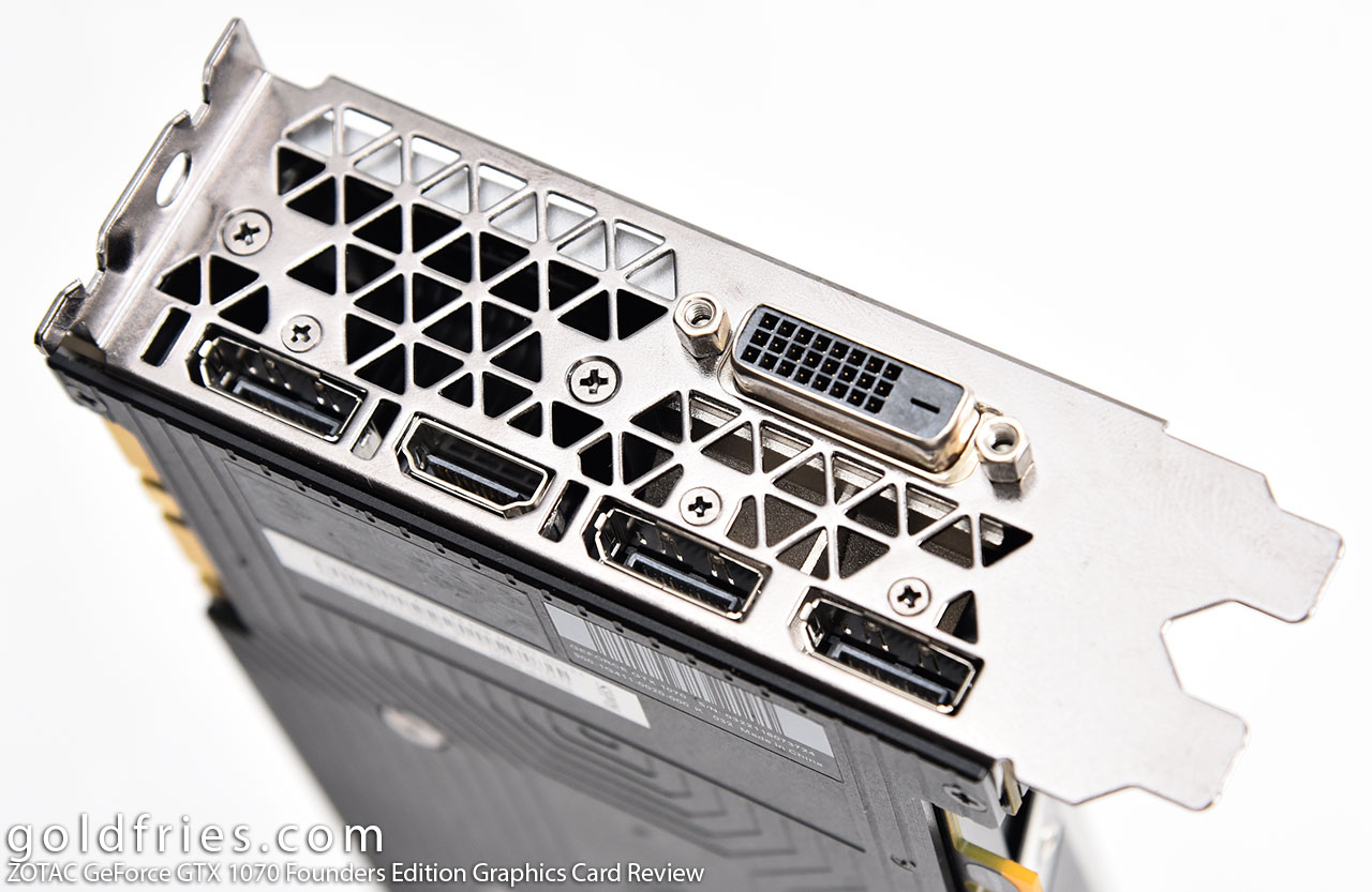 ZOTAC GeForce GTX 1070 Founders Edition Graphics Card Review