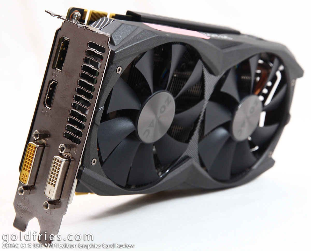 ZOTAC GTX 950 AMP! Edition Graphics Card Review