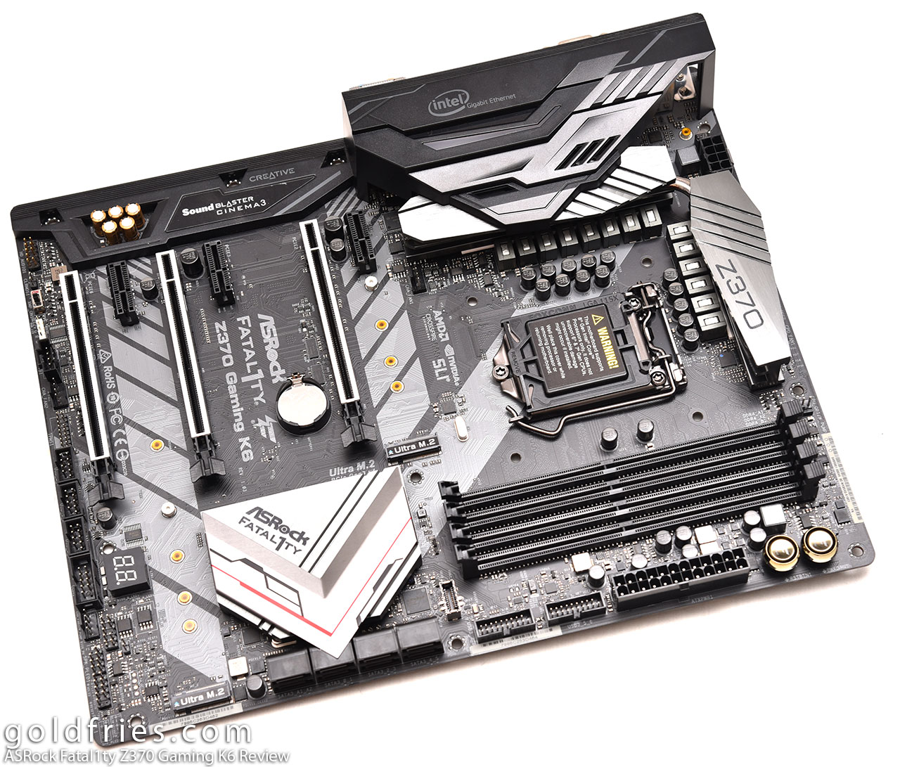ASRock Fatal1ty Z370 Gaming K6 Review