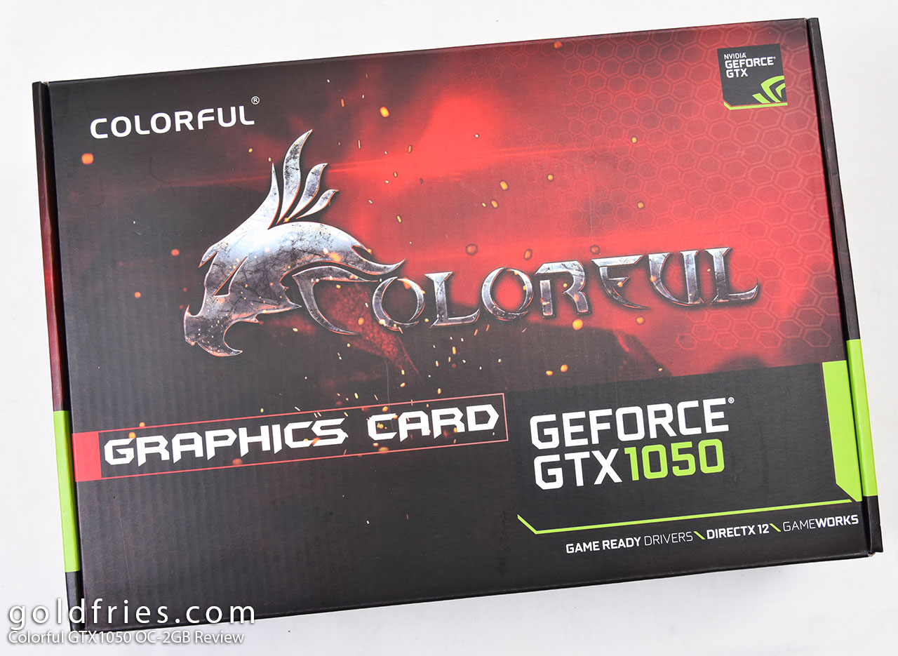Colorful GTX1050 OC-2GB Review