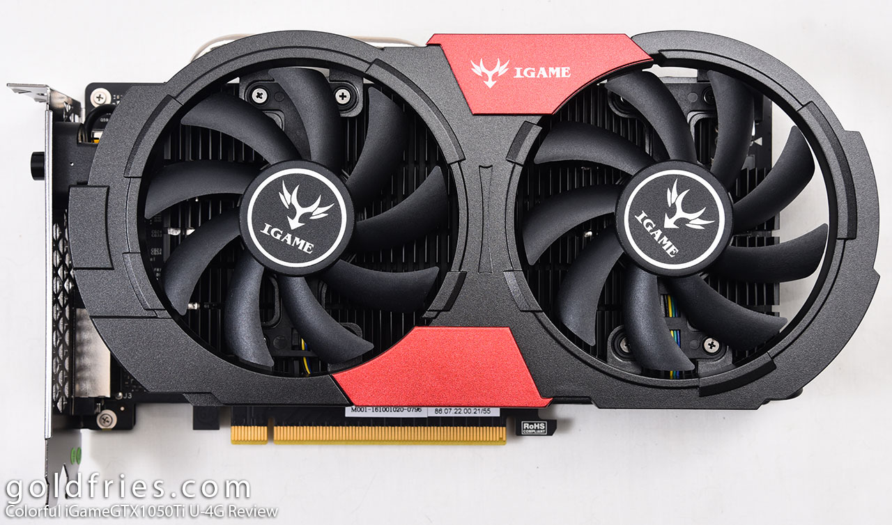 Colorful iGameGTX1050Ti U-4G Review