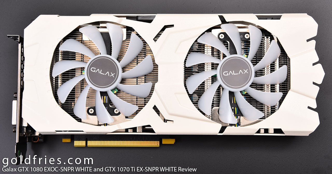 Galax GTX 1080 EXOC-SNPR WHITE and GTX 1070 Ti EX-SNPR WHITE Review