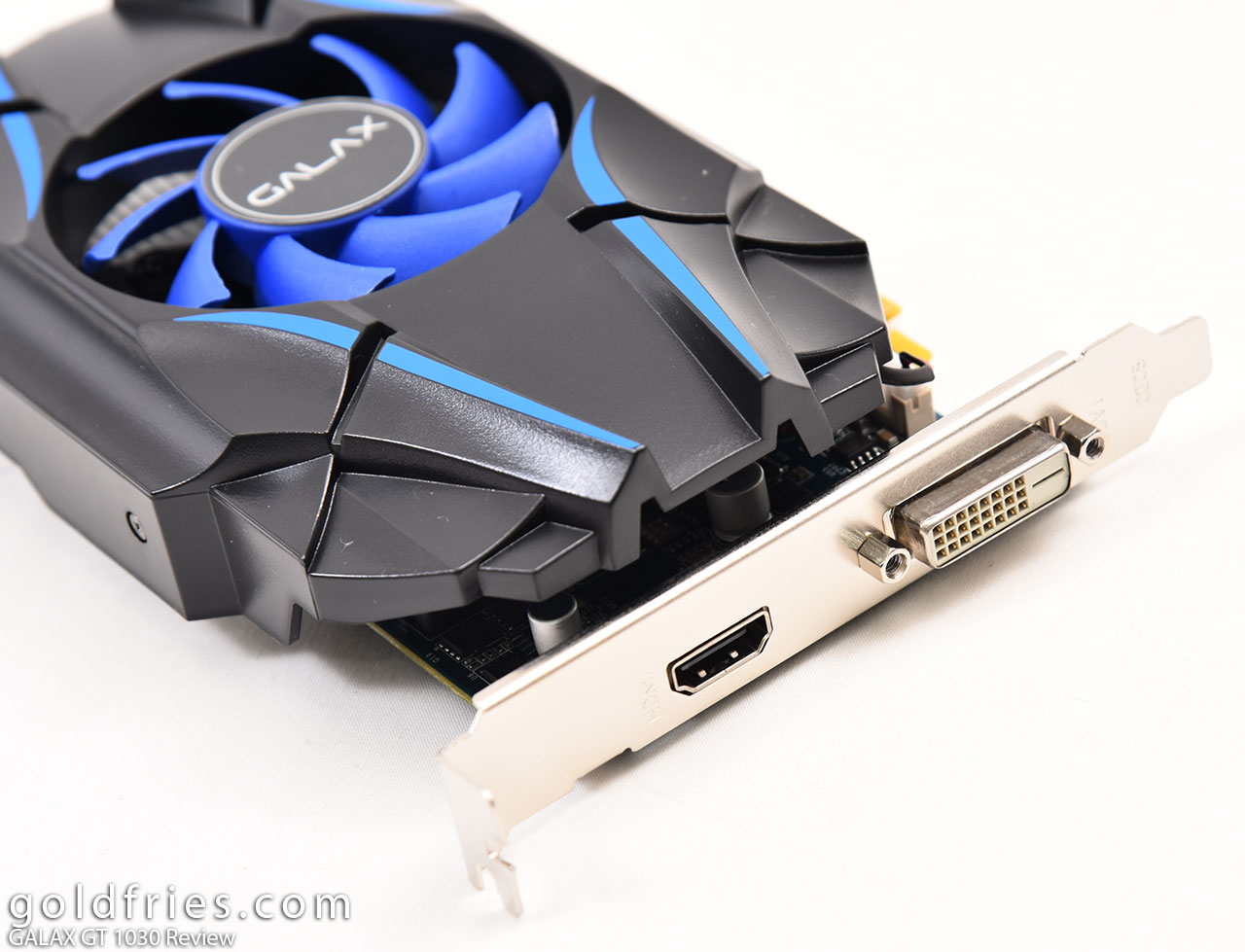 Galax GeForce GT 1030 Review