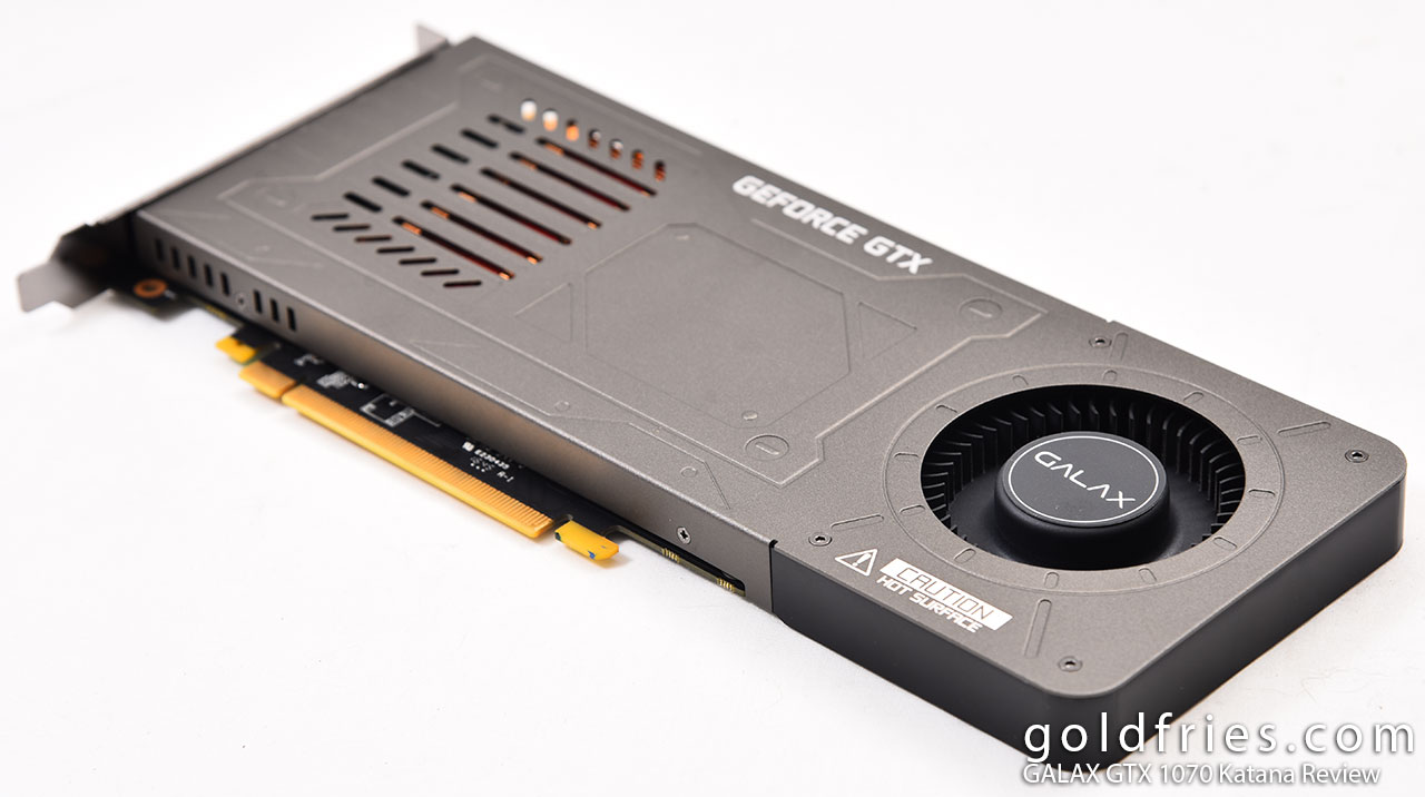 GALAX GTX 1070 Katana Review ~ goldfries