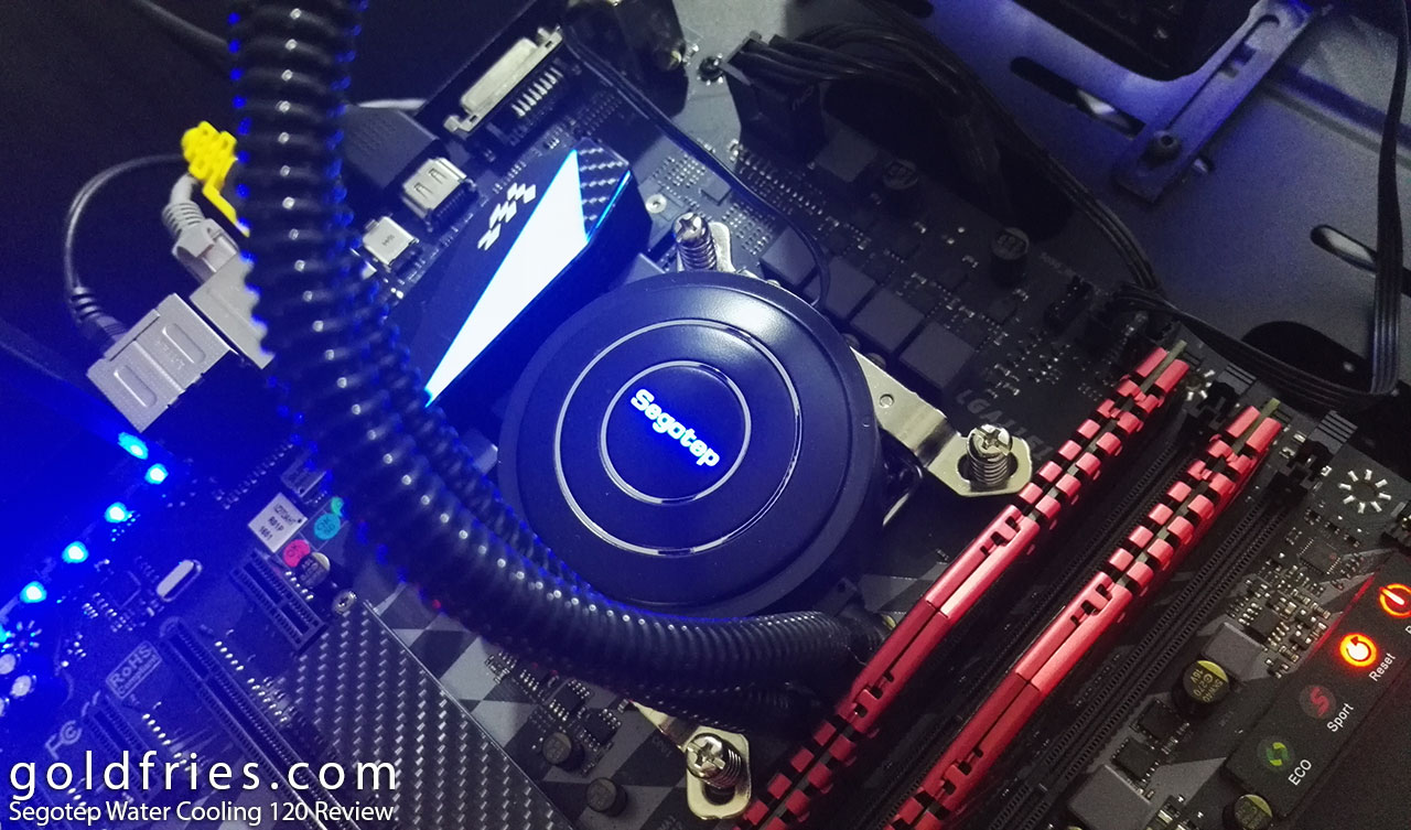 Segotep Water Cooling 120 Review